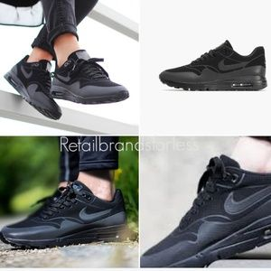NIKE Black Air Max 1 Ultra 3M 704995-003 sz 7